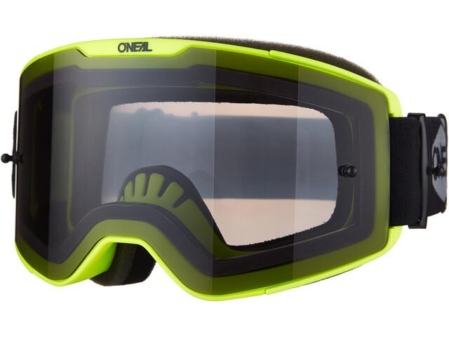 O'Neal B-20 Goggles Plain, neon yellow/black-gray